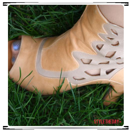 Rhea's booties